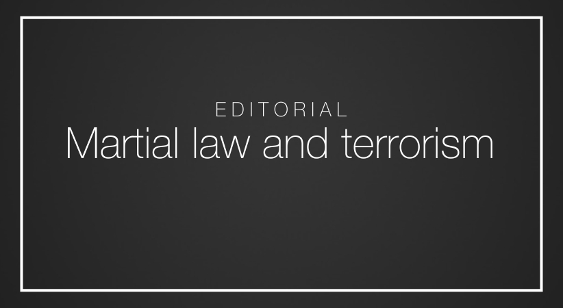 Martial law and terrorism