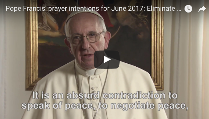 Pope dedicates June to praying for an end to the arms trade