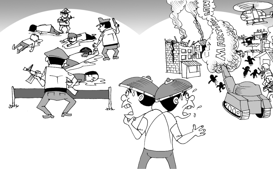 Editorial Cartoon Vol 21 No 11