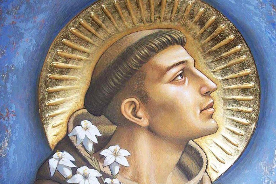 St. Anthony de Padua relic for veneration at Veritas chapel