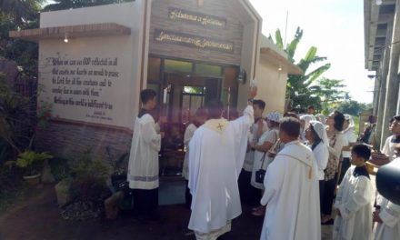 Samar's Nazareno Shrine blesses new adoration chapel