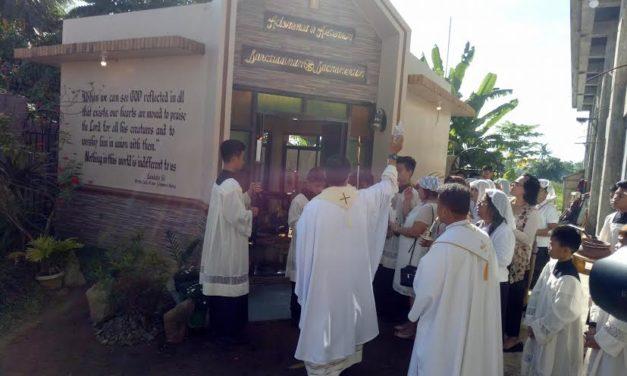 Samar's Nazareno Shrine blesses new adoration chapel