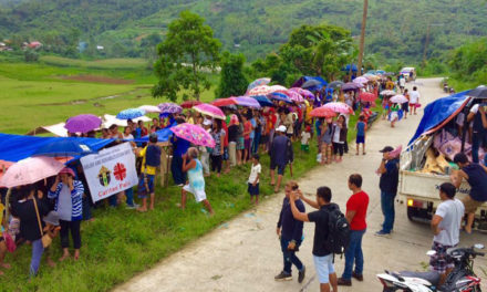 Caritas Palo continues relief efforts for quake victims