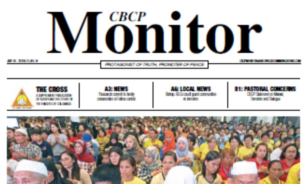 CBCP Monitor Vol 21 No 14
