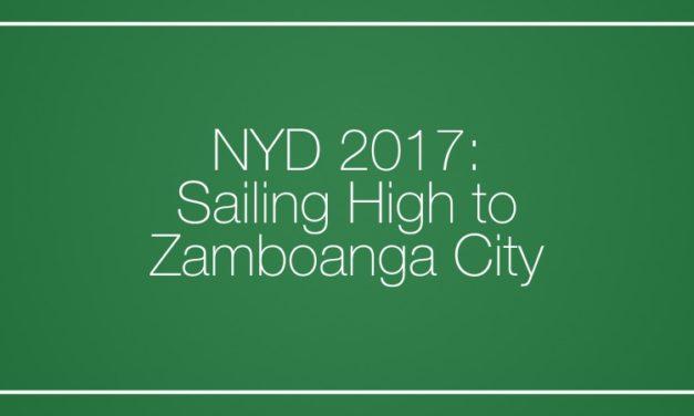 NYD 2017: Sailing High to Zamboanga City