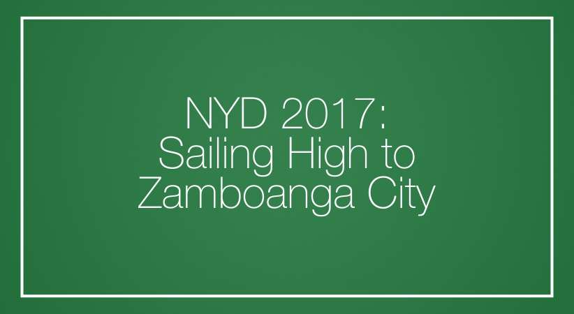 NYD 2017: Sailing High to Zamboanga City