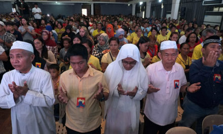 Christians, Muslims unite for peace