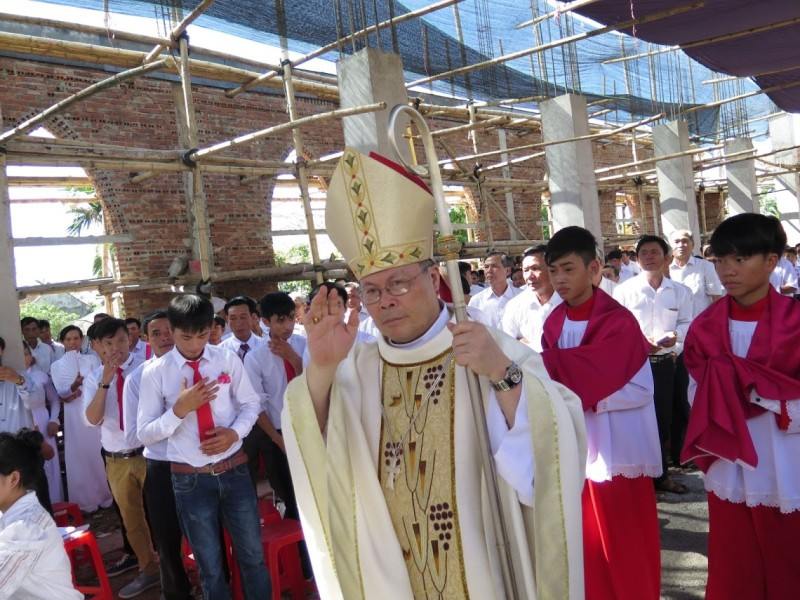 """President of Vietnamese bishops """"optimistic"""" about the future, in spite of everything"""