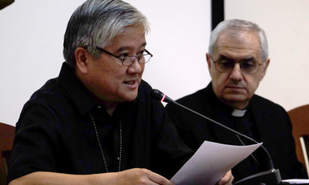 CBCP head: Open hands, not clenched fists