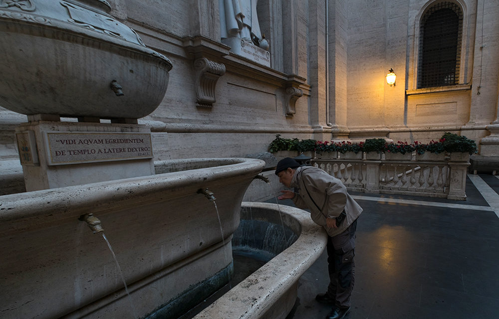 Vatican turns off fountains to conserve water for drought-hit Rome