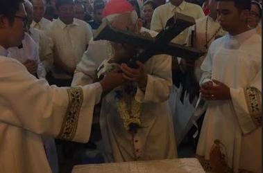 Cardinal leads Hagonoy fiesta on 25th shrine anniversary