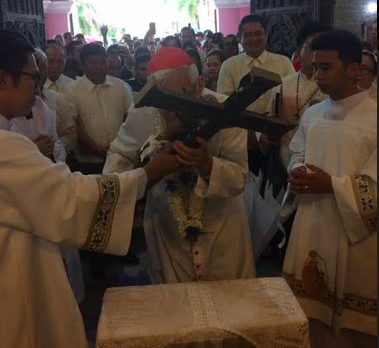 Cardinal leads Hagonoy fiesta on 25th shrine anniversary