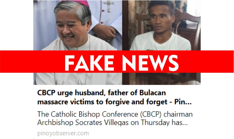 Cardinal Tagle hits fake news makers