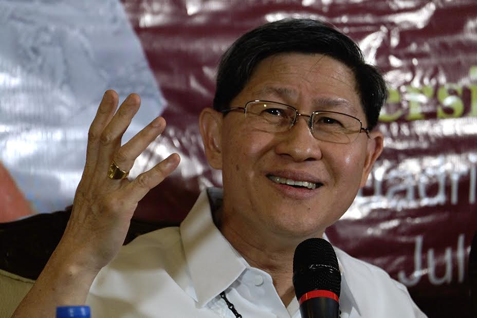 Cardinal Tagle calls for unity against extremism