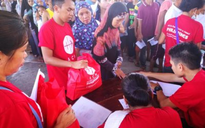 Catholic Church gives relief to home-based Marawi refugees
