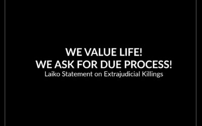 We value life! We ask for due process!