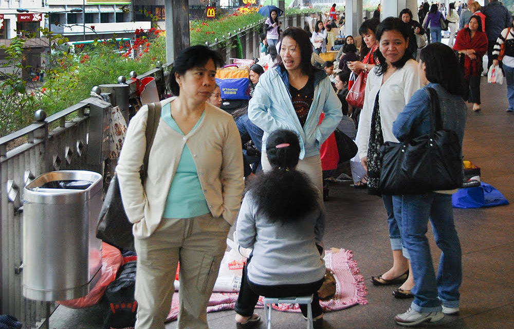Bishop on calls to restrict air-con for Hong Kong maids: 'It's unjust'