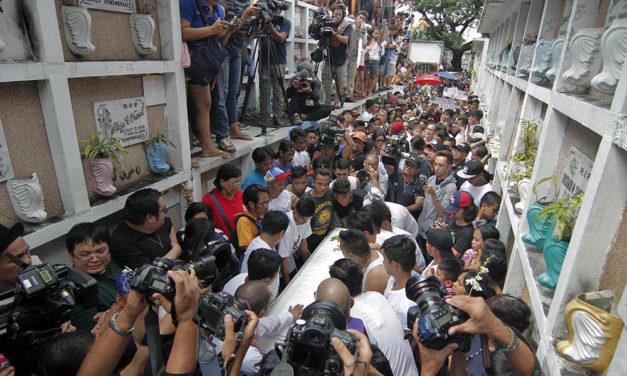 Bishop welcomes guilty verdict of Kian delos Santos' killers
