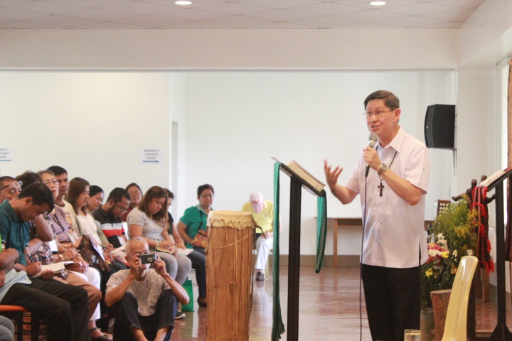 Cardinal Tagle: 'Communion unthinkable without mission'