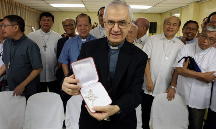 Nuncio praises Filipinos' faith amid disasters as he bid farewell