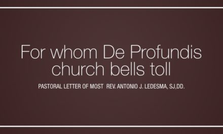 For whom De Profundis church bells toll