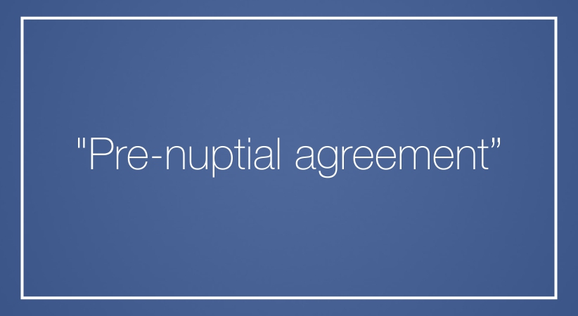 Pre Nuptial Agreement Cbcpnews