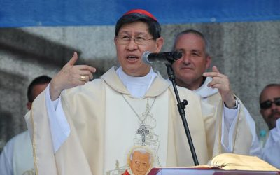 Cardinal Tagle: 'Lent time to reflect on sins against nature'