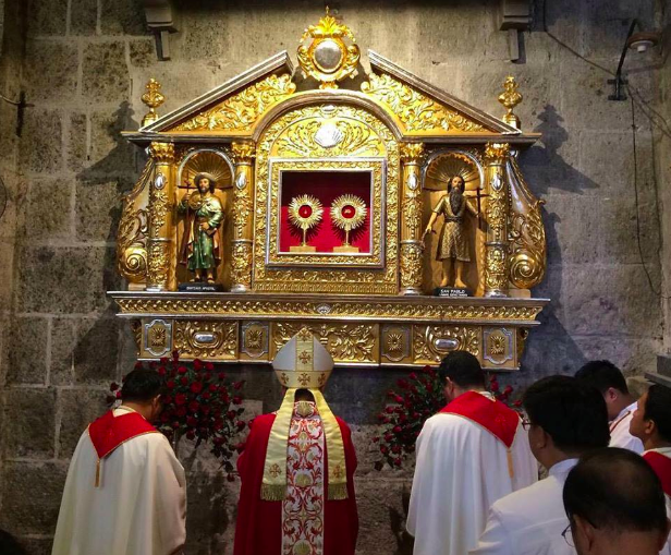 Paete Church opens doors to pilgrims during jubilee year