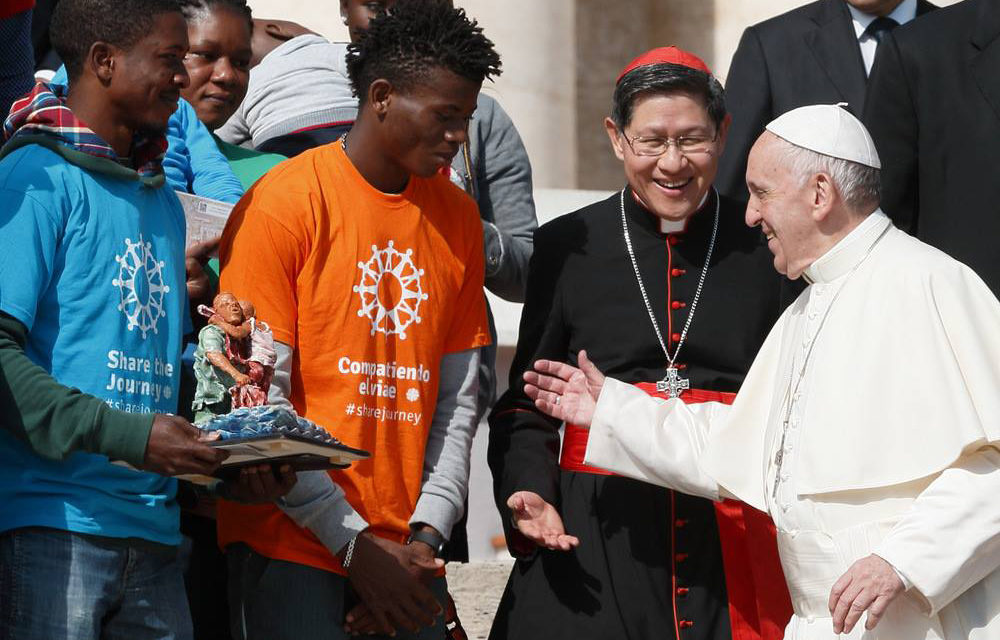 Pope Francis, Cardinal Tagle launch 'Share the Journey' campaign