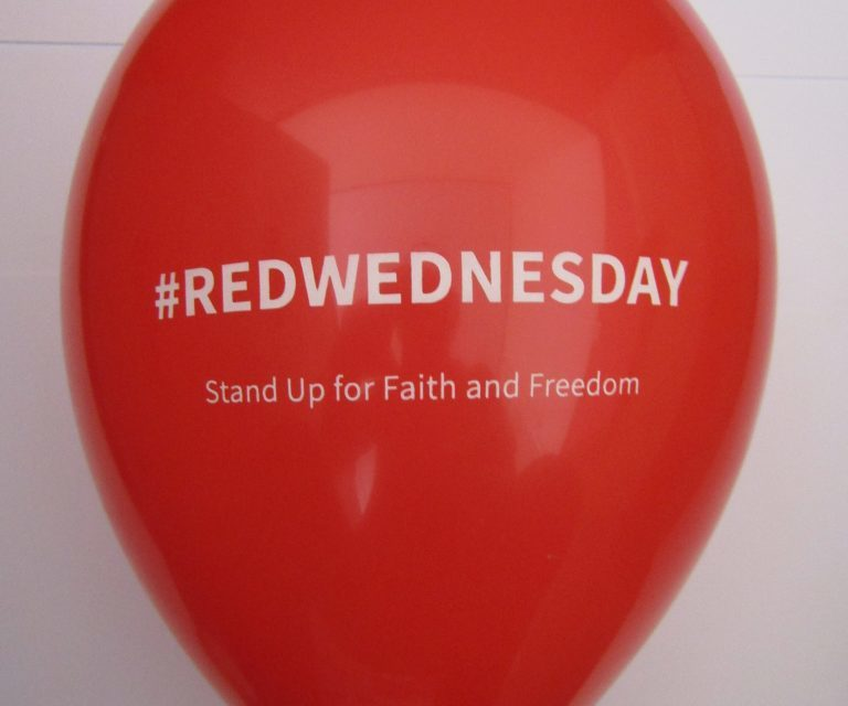 How communities can join 'Red Wednesday' campaign