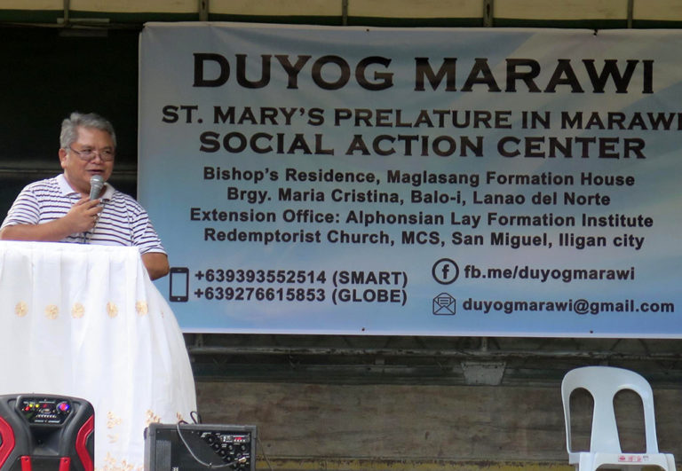 Marawi prelate lauds rescue of abducted priest