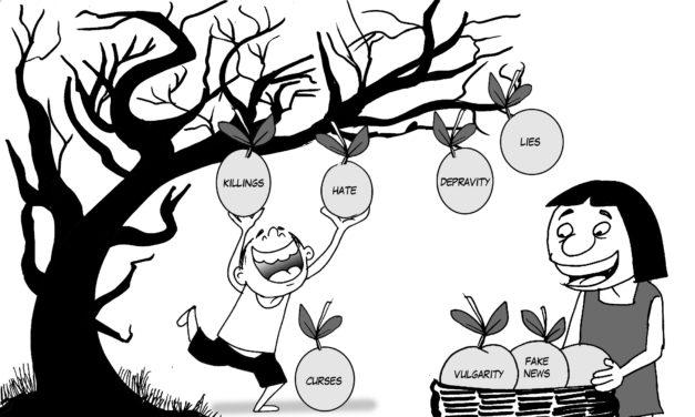Editorial Cartoon Vol 21 No 19