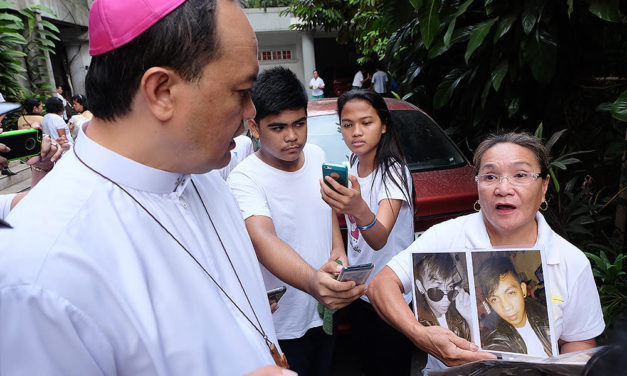 Drug war risks more minors getting killed, bishop warns