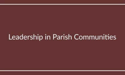 Leadership in Parish Communities