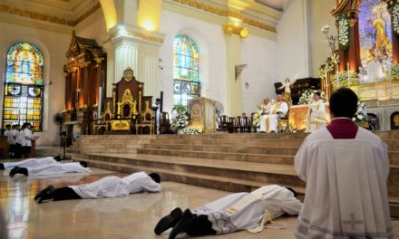 New priest, deacons told: 'Disregard personal interests'