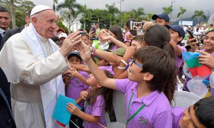 Pope Francis: Parents cherishing their kids is a sign of hope for the future