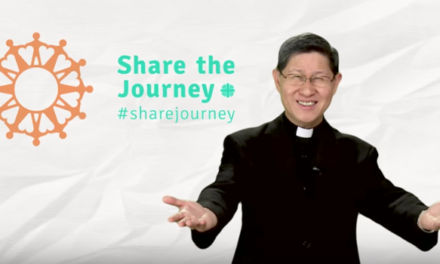 Video Message from Cardinal Tagle – Share the Journey