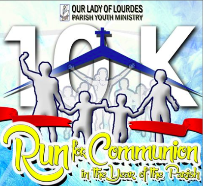 Tagaytay youth's 'Run for Communion' set