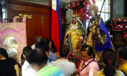 St. Anne visits Marilao during Velada Marileña
