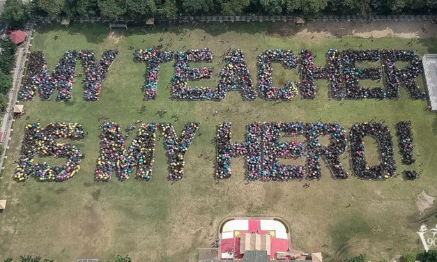 UST attempts Guinness record for 'largest human sentence'