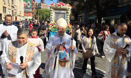 Archbishop Auza celebrates feast of Our Lady of the Most Holy Rosary in NY