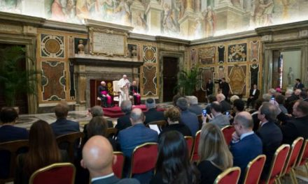 Don't sacrifice justice and family for efficiency, Pope tells business leaders
