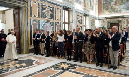 Pursue the common good, not allure of money, Pope tells finance students