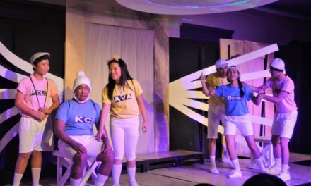 Parish play celebrates 'undying love', angels