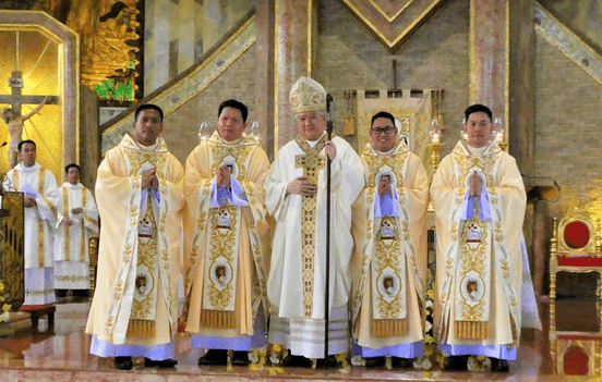Rogationists mark 40 years of PH presence with new priests
