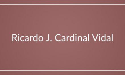 Ricardo J. Cardinal Vidal