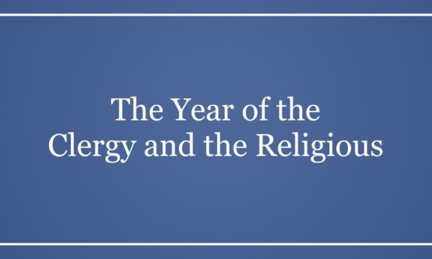 The Year of the Clergy and the Religious