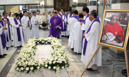 Cebu archdiocese marks 40th day since Cardinal Vidal's death