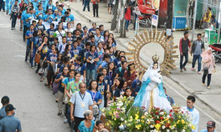 Priest's hope: youth to become 'catalysts of change'