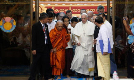 Pope arrives in Bangladesh, praises country's welcome of Rohingya